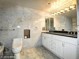 Contemporary 3/4 Bathroom with Slate, specialty door, Trend Q Engineered  Stone,