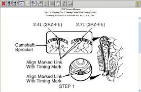 1998 Other Toyota Models Timing Chain: I Am Chaning Timing Chain ...