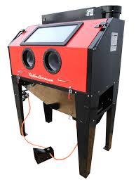 Abrasive Blasting Cabinet New Redline Re48cs Abrasive Sand Blasting Blaster Blast Cabinet
