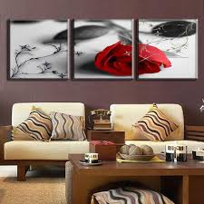 Paintings For Walls Of Living Room Online Get Cheap Red And Grey Painting Aliexpresscom Alibaba Group