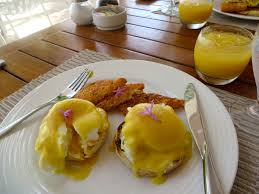 Lobster Eggs Benedict at Fire and Ice ...