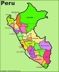peru maps  maps of peru
