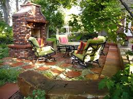 Small Backyard Patio Design Outdoor Patio Designs With Fireplace