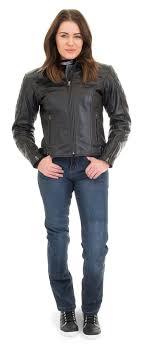 rst 1052 cruz las classic retro leather motorcycle jacket black