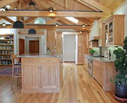 traditional kitchen lighting. Appealing Birch Cabinets For Storage Ideas In Your Kitchen Design: Traditional Design With Ceiling Lighting C