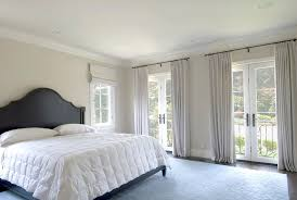 Beautiful Master Bedroom Curtain For French Doors Ideas