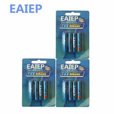 <b>EAIEP</b> 1.2V AAA NIMH Rechargeable <b>Battery</b> in (600mAh 900mAh ...