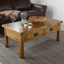original rustic solid oak 4 drawer storage coffee table wooden tables original rustic solid oak 4 drawer storage coffee table 59e8859a