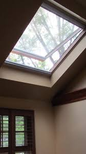 Decorations:Swing Temp Glass Fixed Velux Skylights For Modern Gray Living  Areas And Sunlight Venting