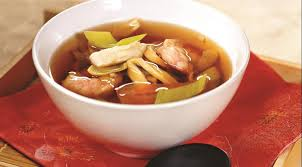 Китайские супы Китайский рыбный суп с креветками