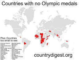 Countries That Have Never Won An Olympic Medal Country Digest