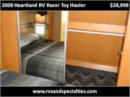 2008 heartland rv razor toy hauler used cars houston tx