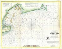 1982 Saginaw Bay Michigan Nautical Chart Map Sebewaing