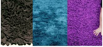 A few cool looking shag rugs ...