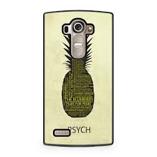 Psych Pineapple Quotes Lg G4 Case