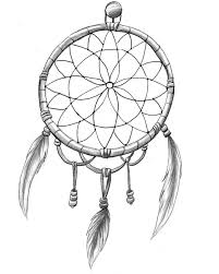 Dream Catchers Sketches Dream Catcher Drawing Easy at GetDrawings Free for personal 24