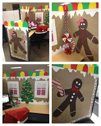halloween theme decorations office. Chic Ideas For Decorating Cubicle Halloween A Cute Ginger Bread Office Birthdays Theme Decorations E