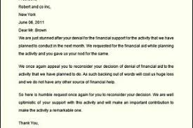 Financial Aid Appeal Letter Sample 300x200