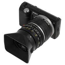 sony mirrorless camera. fotodiox lens mount adapter - leica r slr to sony alpha e-mount mirrorless camera