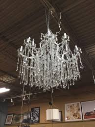 marie antoinette style crystal chandelier in silver consignment p round murano lighting large lamp shades