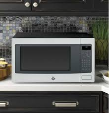Small built in oven Double Oven Microwave Ovens Countertop Microwave Ovens The Design Home Builtin And Countertop Microwaves Ge Appliances