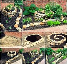 diy herb spiral garden usefuldiy com