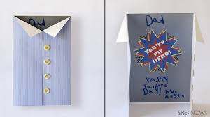 To print, just click the card and this will open it's file. Diy Father S Day Card Ideas Sheknows