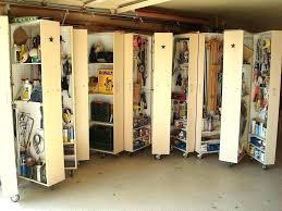 diy garage garden tool storage ideas organizer cabinets building shelves best overhead home improvement good looking