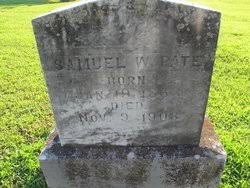 Samuel W. Pate (1863-1903) - Find A Grave Memorial