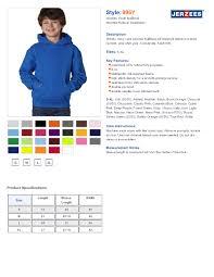 Jerzees Hoodie Size Chart Jerzees 1 4 Zip Sweatshirt Size Chart Coolmine Community