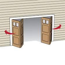 folding garage doors. Type: Bifold All About Garage Doors This Old House Folding