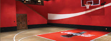 home basketball court design. Backyard Basketball Courts And Home Gyms Sport Court Inexpensive Design O