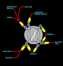 position ignition switch wiring diagram image 6 pin to 3 pin ignition harley davidson forums on 4 position ignition switch wiring diagram