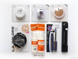 dollar tree january 2016 haul e l f yes to wet n wild and