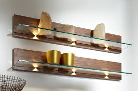 ... Delightful Decoration Floating Wall Shelves Wood Perfecttive Mounted  Shelving Units In Niche With ...