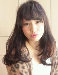 髪型大人カジュアル 黒髪ロング 097 ヘアカタログ銀座の美容室