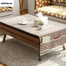 end table coverings linen cloth coffee table tablecloth with storage bag cabinet tablecloth cover cloth rural end table coverings sizes lucky table cloth