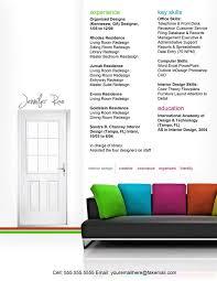 Interior Design Portfolio Ideas resume interior design