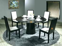 modern round table and chairs round kitchen table with chairs lovable round dining table set for