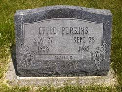 Effie Roberts Perkins (1888-1988) - Find A Grave Memorial