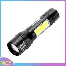 Đèn Pin Led T6 + Cob 8 Skywolfeye 2000m 4 Chế Độ Tiện Dụng tại Nước ngoài