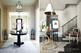design round entry tables home gallery stairs round entry table one of my most favorite foyer entry tables reclaimed barn wood console table round