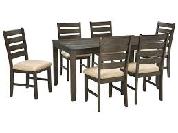 signature design by ashley rokane7piece dining room table set 7 piece dining room set82