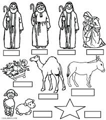 Pleasing Precious Moments Nativity Coloring Pages W4205 Elegant