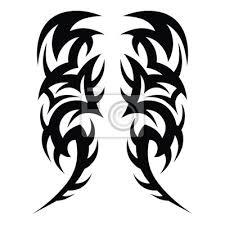 Fototapeta Tetování Nápady Rukávy Návrhy Kmenové Tetování Vzor Vektorové