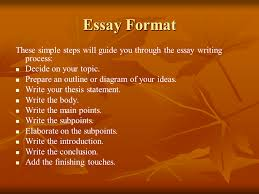 basic guide to writing an essay presentation english language  go