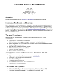 auto technician resume getessay biz template automotive technician auto mechanic in auto technician automotive technician resume