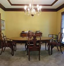 Dining Table Co Queen Anne Dining Table Chairs By Hickory Chair Co Ebth