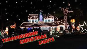 Thoroughbred Christmas Lights Thoroughbred Christmas Lights Rancho Cucamonga Ca