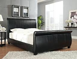 upholstered leather sleigh bed. Related Post Upholstered Leather Sleigh Bed A
